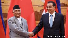China K.P. Sharma Oli und Li Keqiang