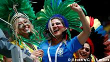 Russland WM 2018 l Brasilien vs Costa Rica - Fan (Reuters/C. G. Rawlins)