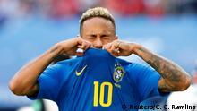 Russland WM 2018 l Brasilien vs Costa Rica - verpasste Torchance Neymar