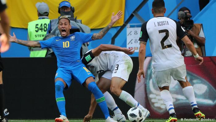 Russland WM 2018 l Brasilien vs Costa Rica - Neymar (Reuters/M. Brindicci)