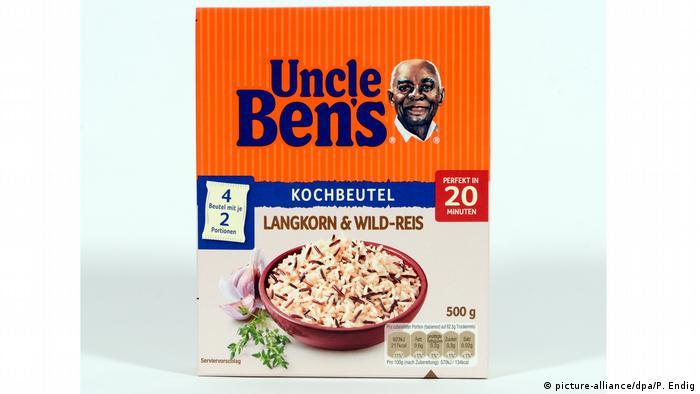 Пачка риса Uncle Ben's