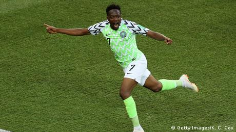Russland WM 2018 l Nigeria vs Island – Tor 1:0 - Ahmed Musa (Getty Images/K. C. Cox)