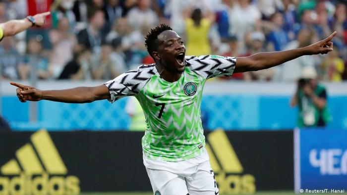 Russland WM 2018 l Nigeria vs Island – 2:0 Tor - Musa (Reuters/T. Hanai)