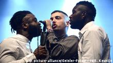UK-Band Young Fathers beim Melt! Festival 2015 in Gräfenhainchen (picture-alliance/Geisler-Fotopress/R. Keuntje)