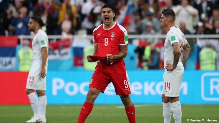 Russland WM 2018 l Serbien vs Schweiz – Tor 1:0 Jubel Aleksandar Mitrovic