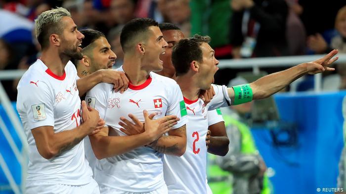 Russland WM 2018 l Serbien vs Schweiz – 1:1 Tor Granit Xhaka