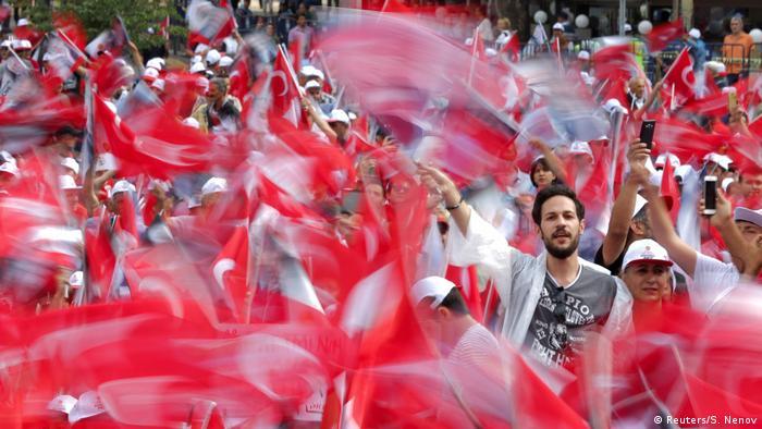 Demonstrație pro-Ince la Ankara
