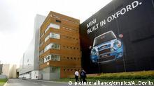 Großbritannien BMW Fabrik für Minis in Cowley