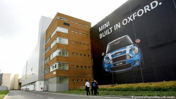 The BMW plant in Oxford, England