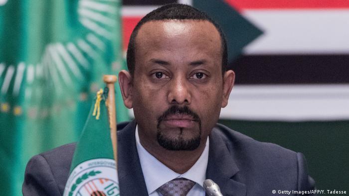 Äthiopien Abiy Ahmed, Premierminister