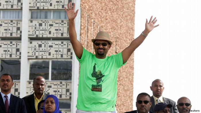 Ethiopian Prime Minister Abiy Ahmed in Addis Ababa