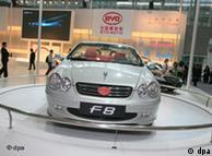 Китайський електромобіль BYD F8