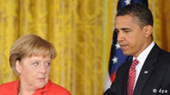 Merkel in Washington