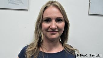 Координатор Медийной инициативы за права человека Мария Томак