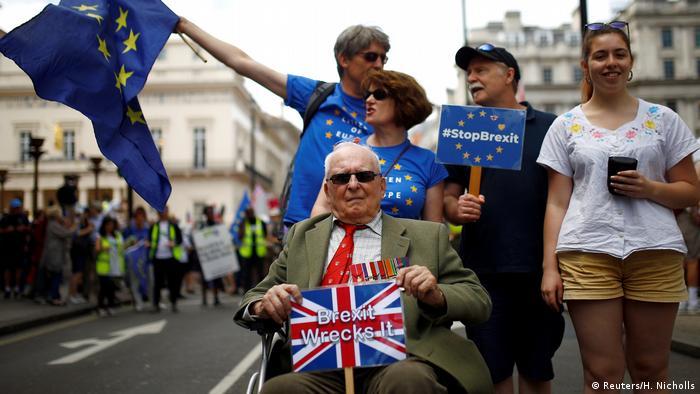 Großbritannien London Demonstration gegen Brexit (Reuters/H. Nicholls)