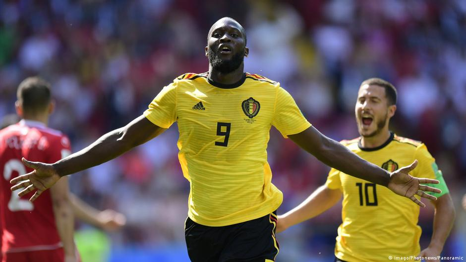 World Cup 2018  Lukaku and Hazard at the double as Belgium crush Tunisia bf0fbdbae