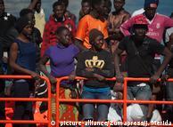 Врятовані в морі біженці (архівне фото)
