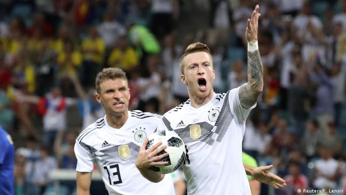 Russland WM 2018 Deutschland gegen Schweden (Reuters/F. Lenoir)