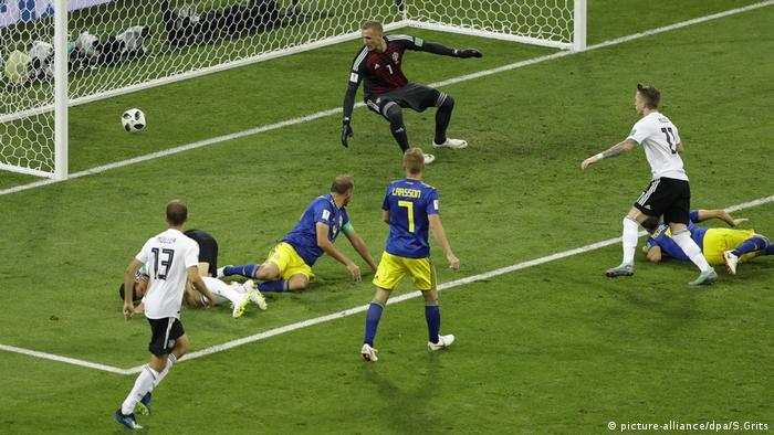 WM 2018 - Deutschland - Schweden (picture-alliance/dpa/S.Grits)