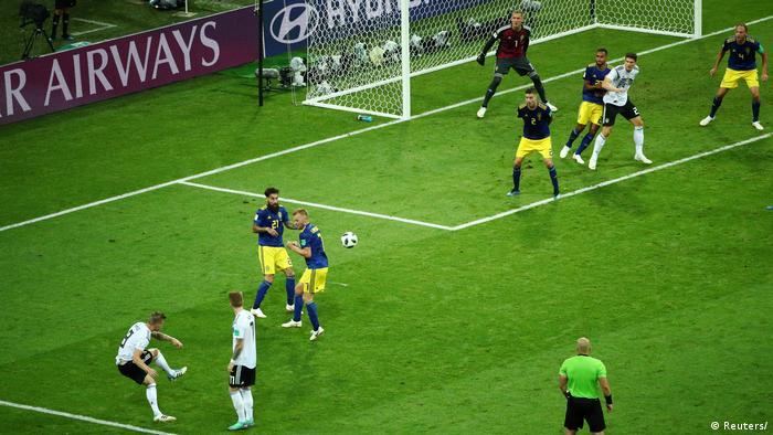 Russland WM 2018 Deutschland gegen Schweden (Reuters/)