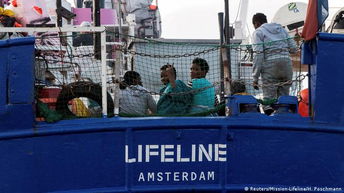 The Lifeline rescue ship