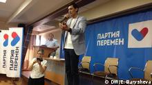 Russland - neue oppositionelle Partei - Dmitrij Gudkow