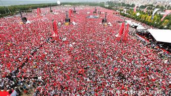 حزب جمهوری خلق شمار هواداران در آخرین میتینگ انتخاباتی اینجه را پنج میلیون نفر اعلام کرده