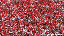 Türkei Wahlkampf Muharrem Ince, Republikanische Volkspartei in Istanbul