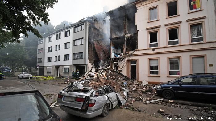 Explosion at Wuppertal apartment building