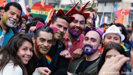 Chile LGBT Pride Day in Santiago (Reuters/R. Garrido)