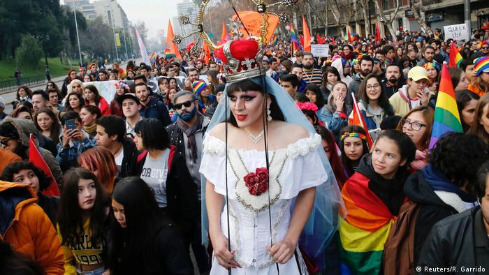 Chile LGBT Pride Day in Santiago (Reuters/R. Garrido)