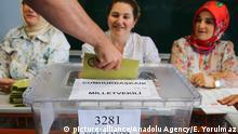 Türkei Präsidentschafts- und Parlamentswahl 2018 | Wahllokal in Istanbul