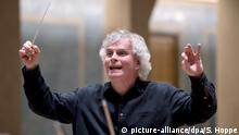 Sir Simon Rattle, a long-time Berlin resident, has applied for German citizenship