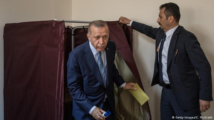 Wahlen Türkei Erdogan (Getty Images/C. McGrath)