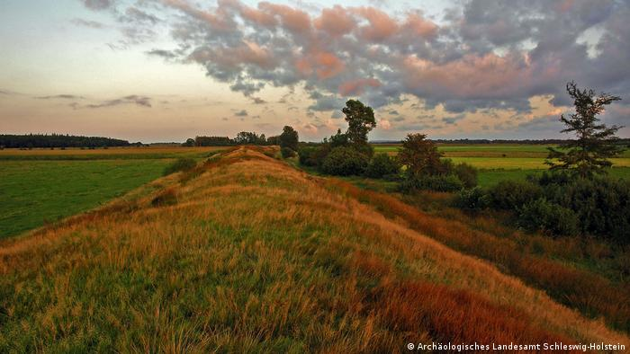 Danevirke wall (Archäologisches Landesamt Schleswig-Holstein)