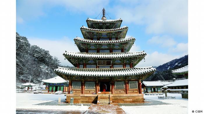 Buddhist monastery in South Korea (CIBM)