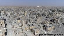 FILE -- In this Thursday, Oct. 19, 2017 file photo, a frame grab made from drone video shows damaged buildings in Raqqa, Syria. Amnesty International, in a report Tuesday, June 5, 2018, accused the U.S. and its allies of showing little regard for civilians' lives while attacking the Syrian city that was once the self-styled capital of the Islamic State group. The report said that the U.S.-led coalition's 2017 assault on Raqqa killed hundreds of civilians and reduced sections of the city to rubble. A coalition spokesman calls the allegations absurd and grossly inaccurate. (AP Photo/Gabriel Chaim, File) |