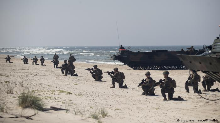 Litauen, NATO Militärübung im Baltikum (picture-alliance/M.Kulbis)