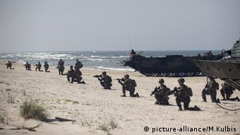 Учения НАТО в Литве, июнь 2018 года