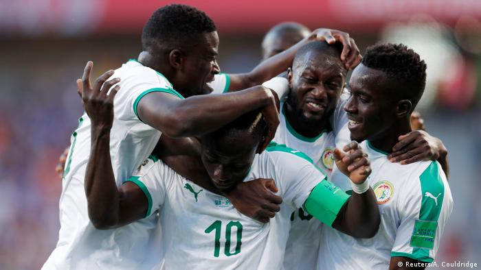 Russland WM 2018 Japan gegen Senegal