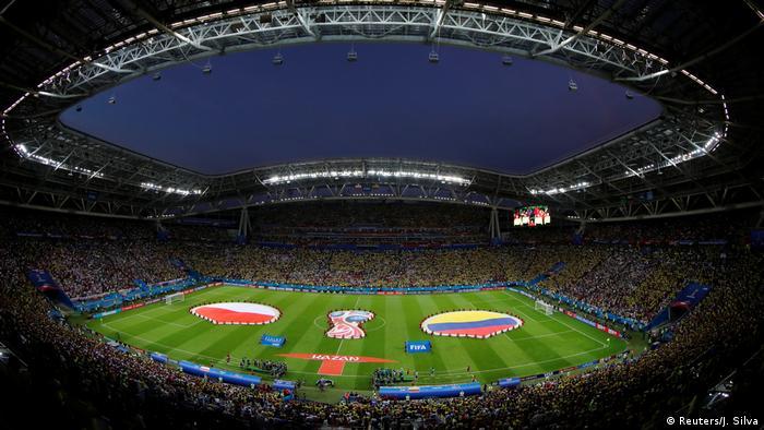 Russland WM 2018 Polen gegen Kolumbien (Reuters/J. Silva)