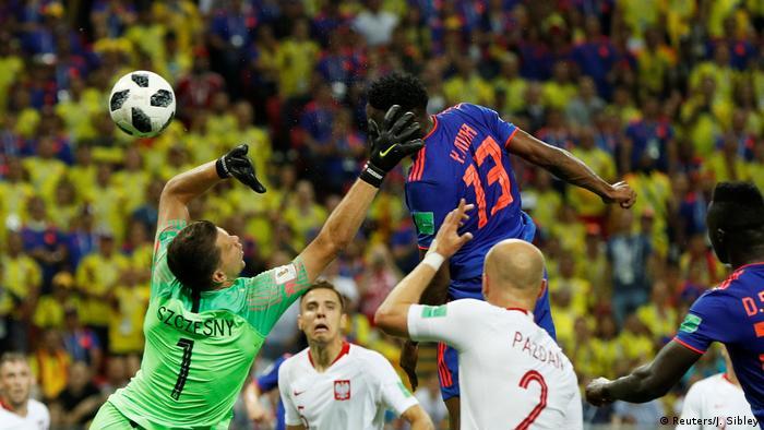 Russland WM 2018 Polen gegen Kolumbien (Reuters/J. Sibley)
