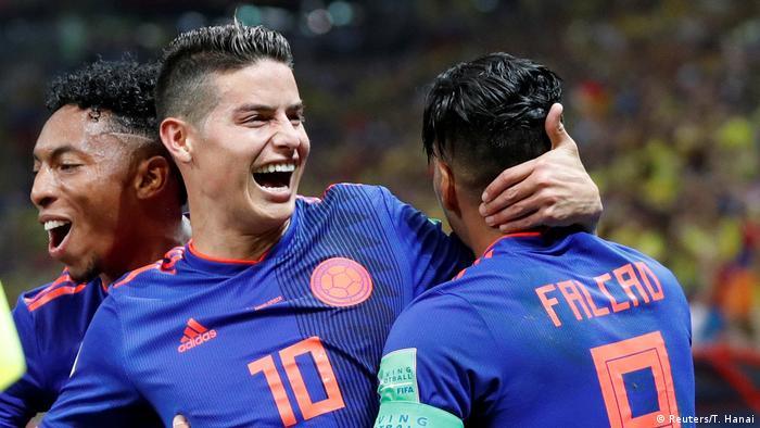 Russland WM 2018 Polen gegen Kolumbien | James Rodriguez (Reuters/T. Hanai)