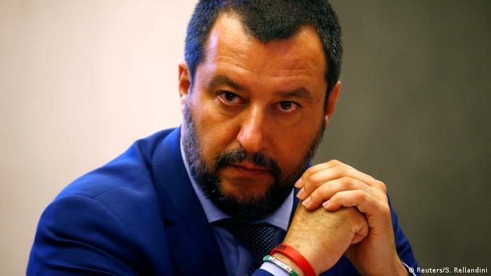 Italy's Interior Minister Matteo Salvini (Reuters/S. Rellandini)