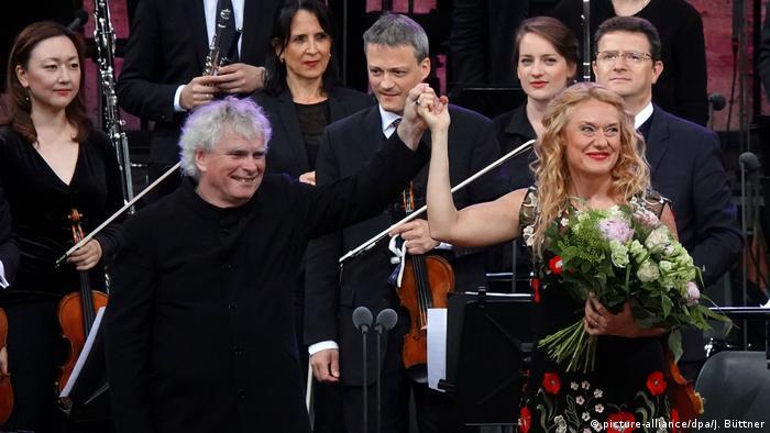 Deutschland Berliner Philharmoniker - Letztes Konzert von Sir Simon Rattle