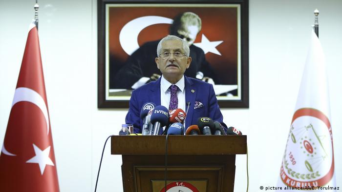 Türkei - Hoher Präsident des Wahlausschusses YSK Sadi Guven