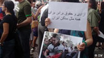 تظاهرات در کلن، شنبه ۶ تیر / ۲۷ ژوئن