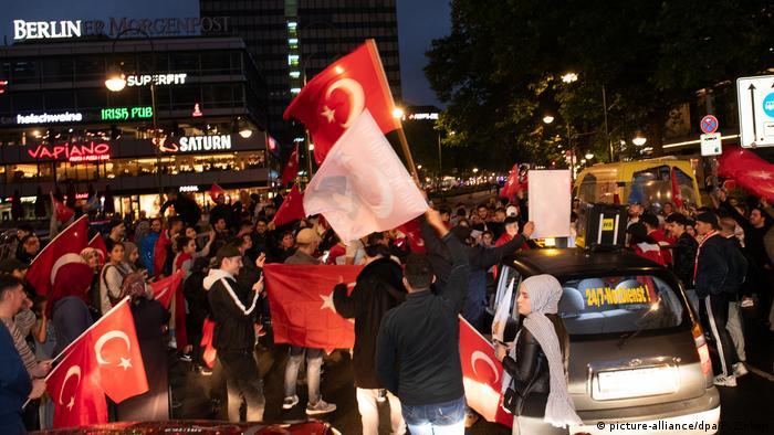 Deutschland - Reaktionen auf die Wahlen in der Türkei in Berlin