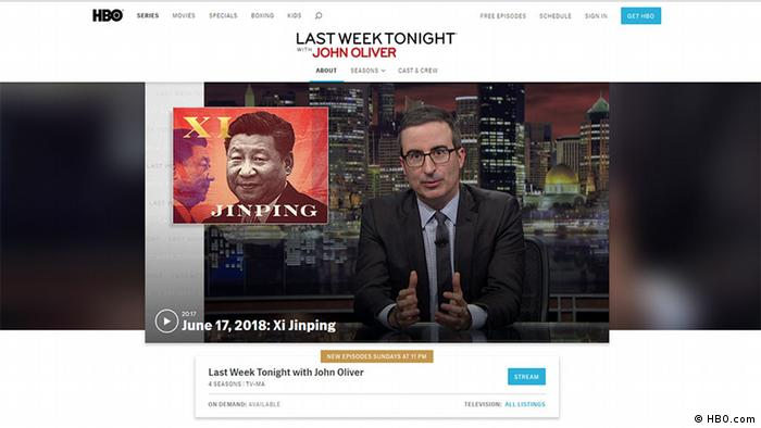 Screenshot HBO - Last Week Tonight John Oliver (HBO.com)