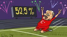 Erdogan erklärt Sieg bei Parlaments- und Präsidentschaftswahlen
